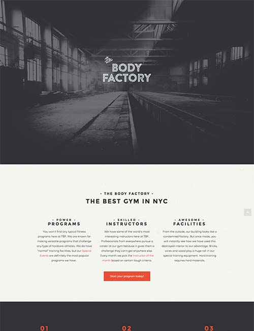 body-factory-template