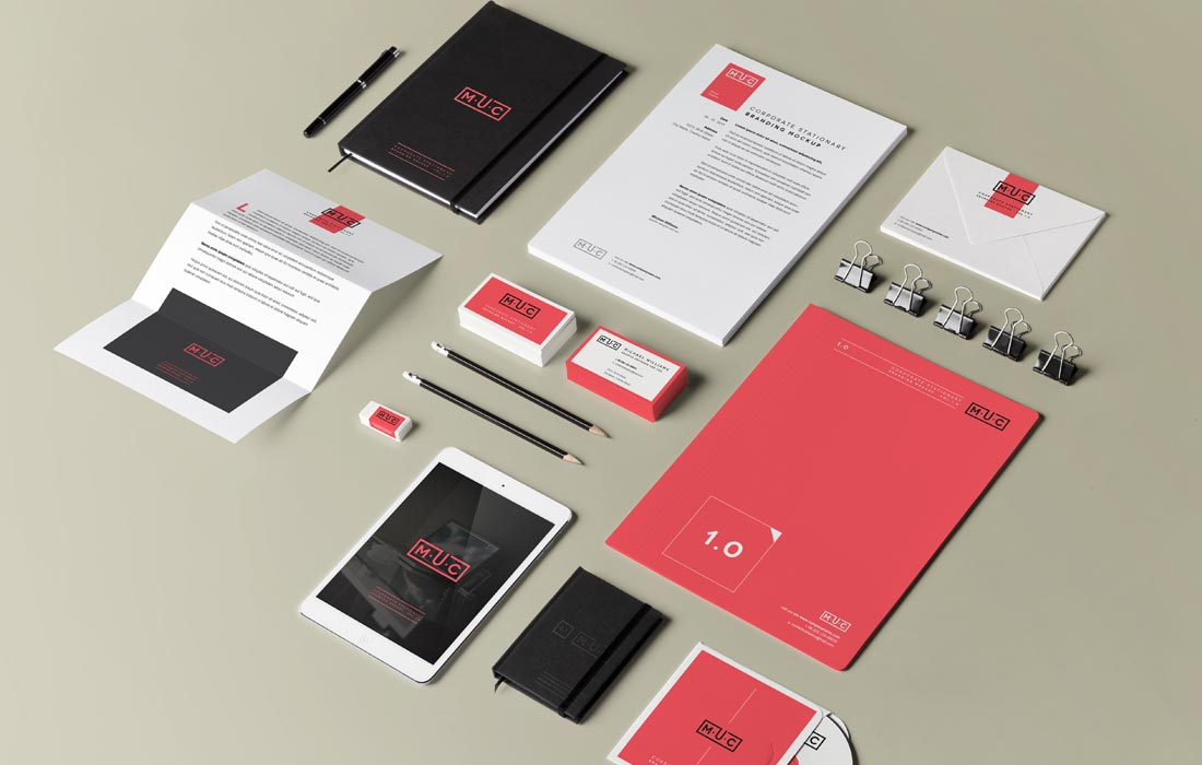 graphic design and promotional materials